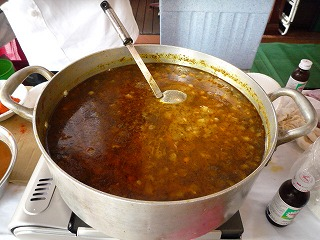 十番祭り(チャナパコラDeviBistro)making_sauce