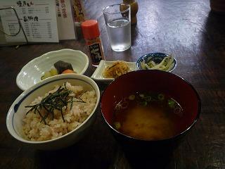 蛸の壺(五目焼ランチセット)