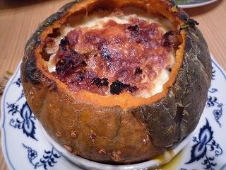 南瓜グラタン風スープ