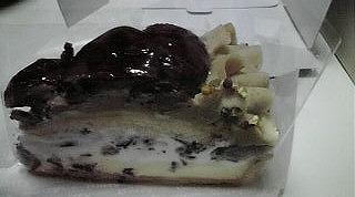 ベリーカフェ・カフェコムサ(栗のケーキ)