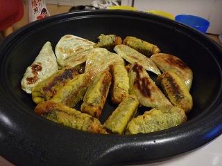 海鮮餃子・海苔巻揚