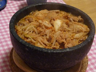 石焼き豚キムチ