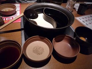温野菜(タレ&鍋)