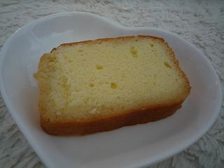 三河屋(ブランデーケーキ)cut