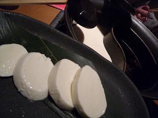 温野菜(モッツァレラ)