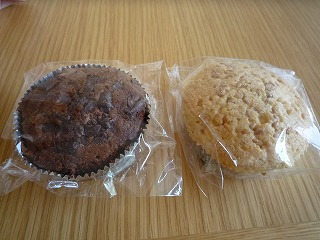 PurimoSweets(チョコチップのカップケーキ&アマスのカップケーキ)