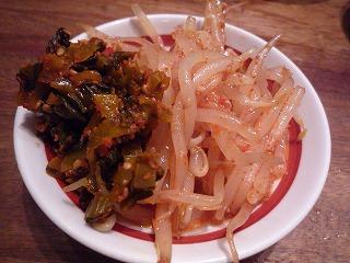 博多一風堂(辛いモヤシ&高菜)