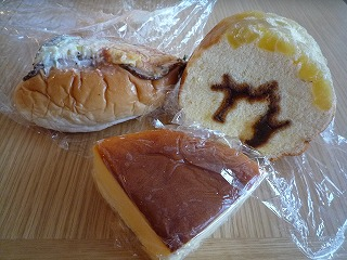 サンモリッツ(芋ロール・ペッパーシンケン・チーズケーキ)