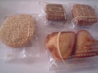 ガチーナチュレ0ルシュウ(きな粉フィナンシェ、黒糖&チーズ&シナモンクッキー)