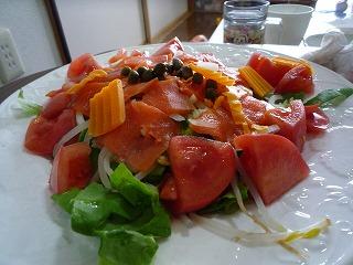 やんべちゃん作サラダ