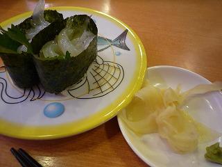 かっぱ寿司(白魚)
