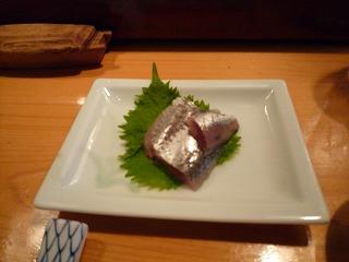 松乃鮨(鰯刺身)