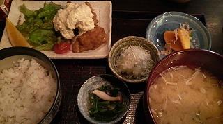でんでんでん(鶏南蛮定食レディース)