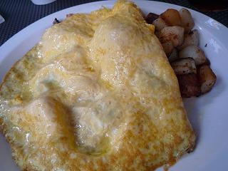 EggsnThings(本日のオムレツ・ターキー、ベーコン、トマト、チーズ、マッシュルーム)