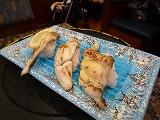 沼津うおがし鮨(穴子食べ比べ)