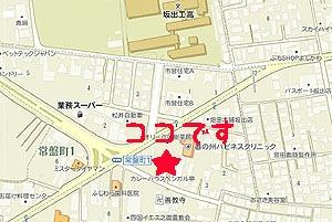 ベンガル亭地図