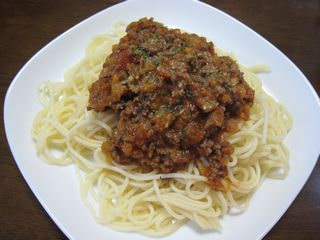 スパゲッティ ミートソース