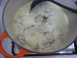 チキンと白菜のクリーム煮
