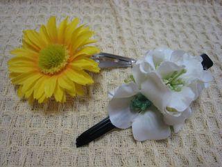 お花のヘアアクセサリー