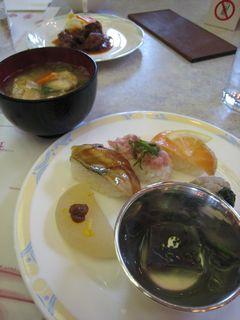 お寿司&漁師汁