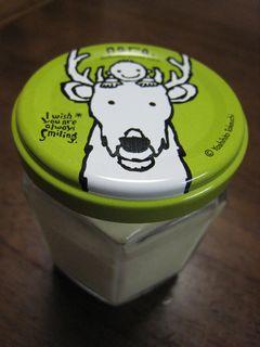 白い鹿のヨーグルトプリン