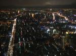 89階(高さ384m)の眺めです