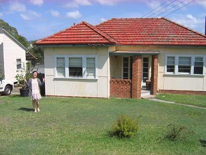 新家,房子稍远