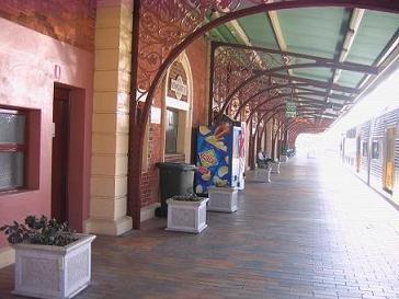 N市中心车站