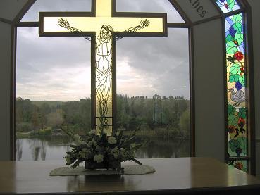 教堂里的祭坛