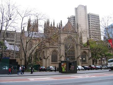 市中心的教堂