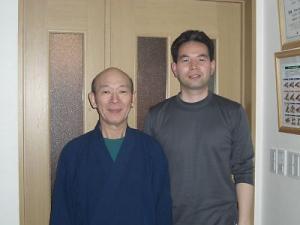 自然形体療法の創始者、山田 洋先生とのツーショット