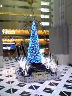 新宿NSビル内のクリスマスイルミネーション