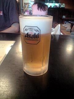 蕎麦屋(ビール)