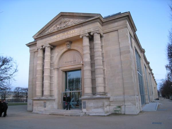 オランジュリー美術館。