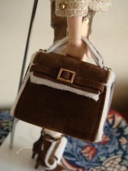 FR misaki metallic moment bag
