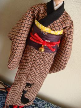 annz kuroneko kimono