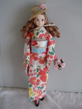 momoko no kimono flower
