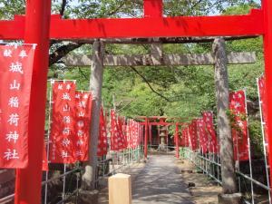 松江城・鳥居