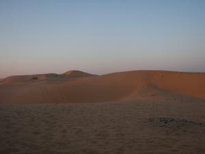 砂漠朝焼け1