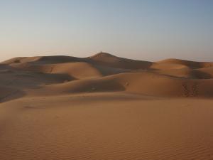 砂漠朝焼け2