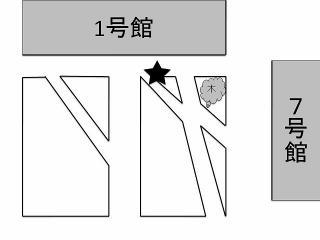 新歓座キャン地図
