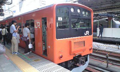 201系新宿駅