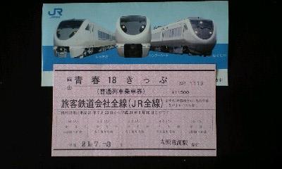 赤い18切符