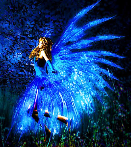 Fire Fairy1 Blue