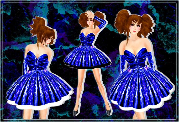 シャインドレス ブルー