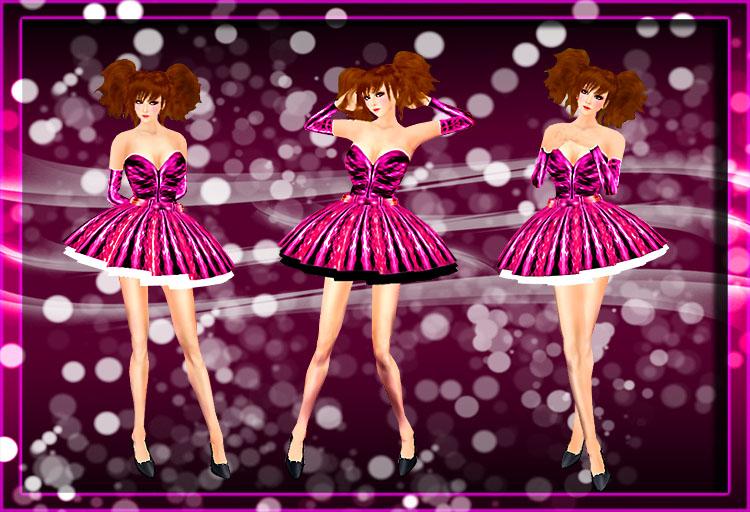 シャインドレス ピンク