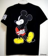 世界初ミッキーマウスの後ろ姿プリント