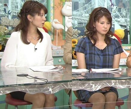 遠藤玲子 ミニスカ美脚