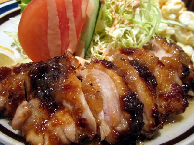 鶏生姜焼き