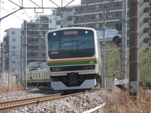 E231系高崎線。